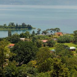 Rusizi Town in Rwanda